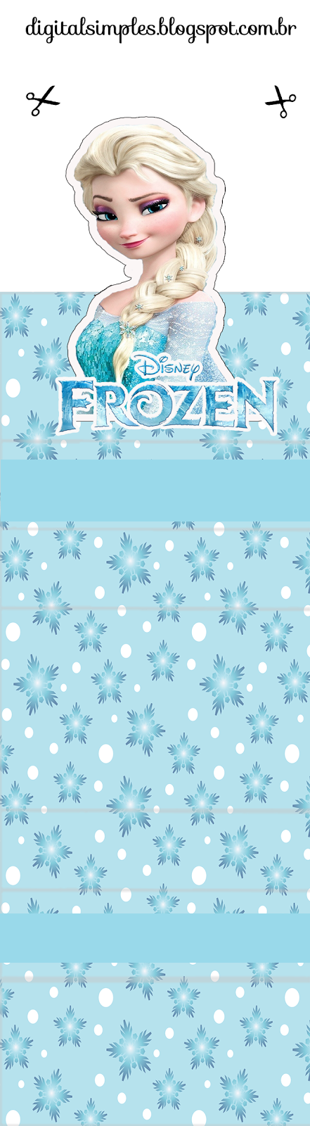 Frozen free printable original nuggets or gum wrappers oh my