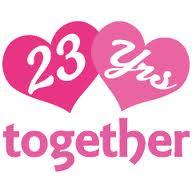 Pati s way thru life happy 23rd anniversary
