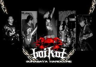 Boikot band hardcore / metalcore surabaya