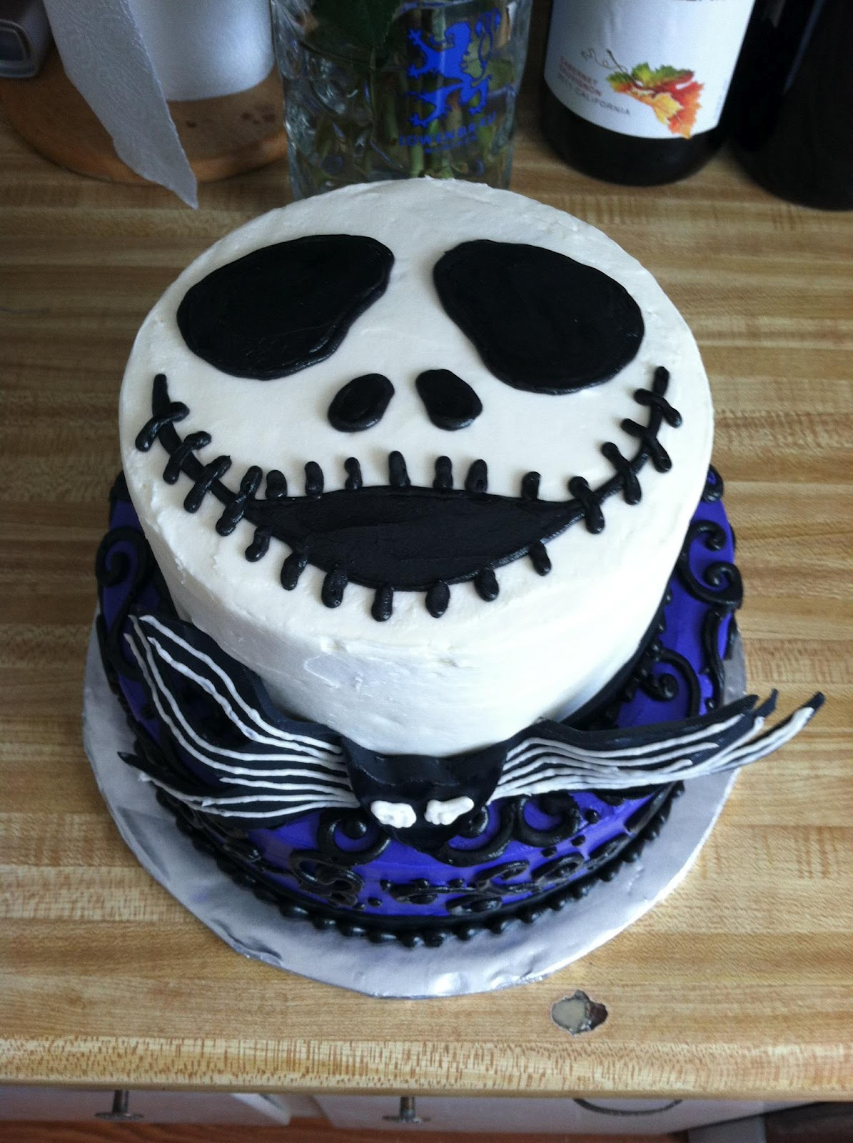 My Sweet Diversion Jack Skellington And Cow Cakes