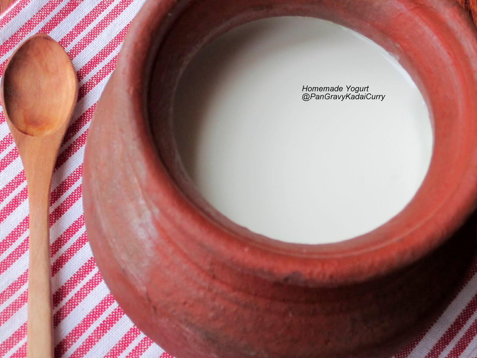 How to make Fresh Yogurt/Curd/Dahi at Home - YouTube