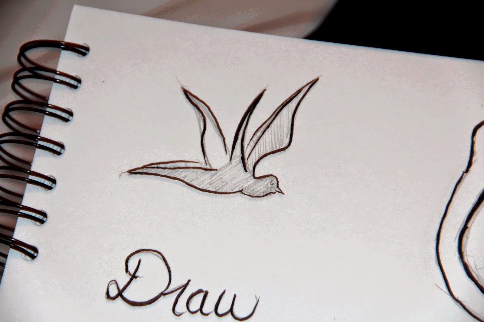 hirondelle oiseau dessin tatouages