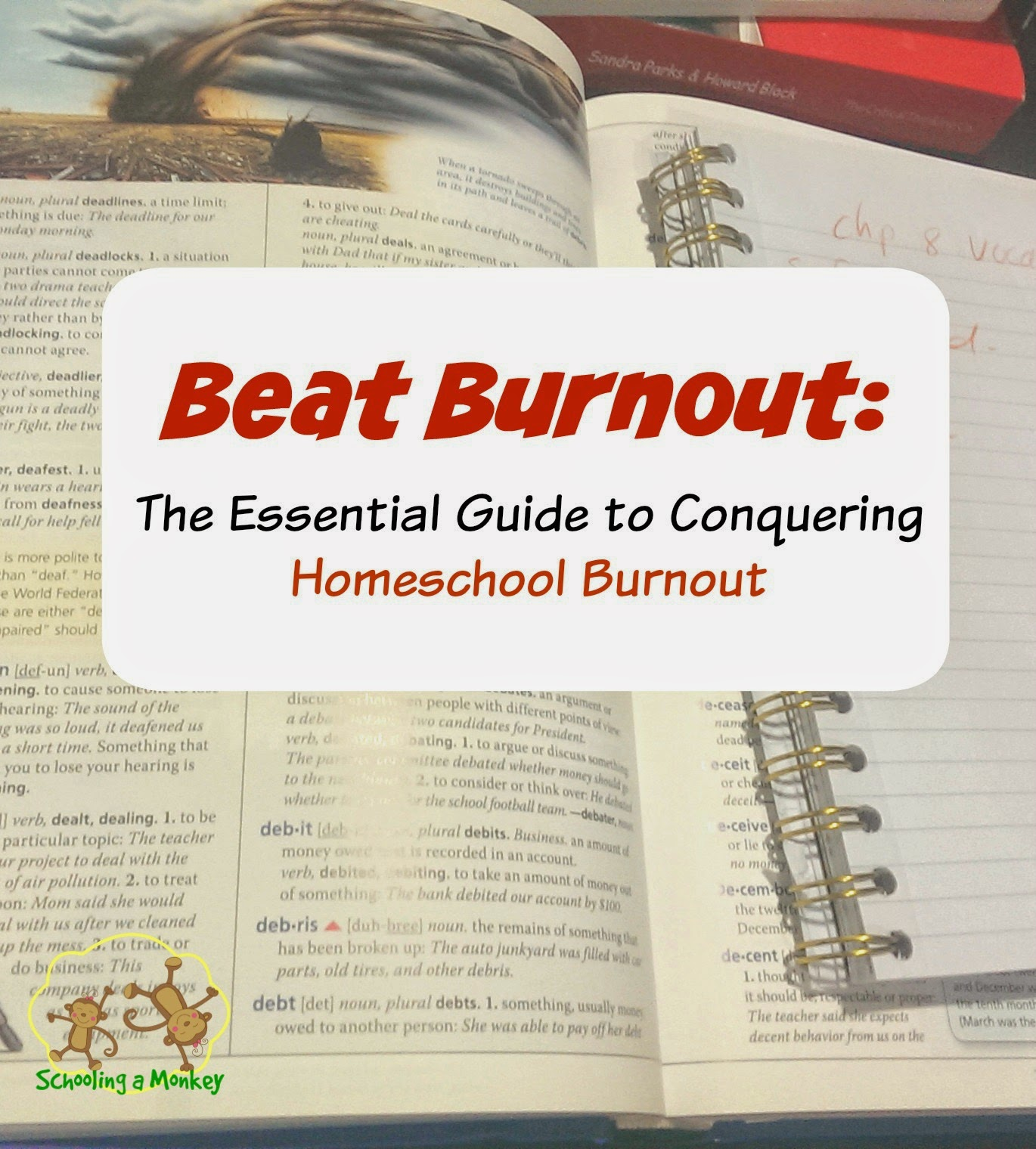 Feeling burned out with homeschooling? This helpful guide to beat homeschool burnout can help you conquer homeschool burnout for good!