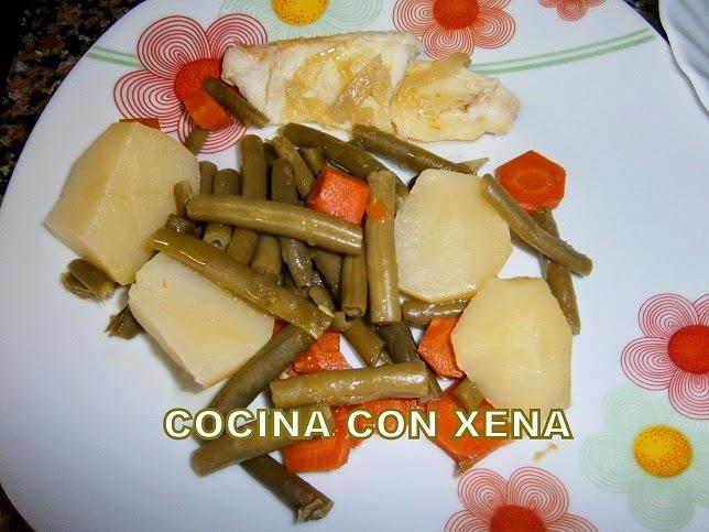 Cocina con xena verdura y pescado al papillote a la for Cocina con xena olla gm d
