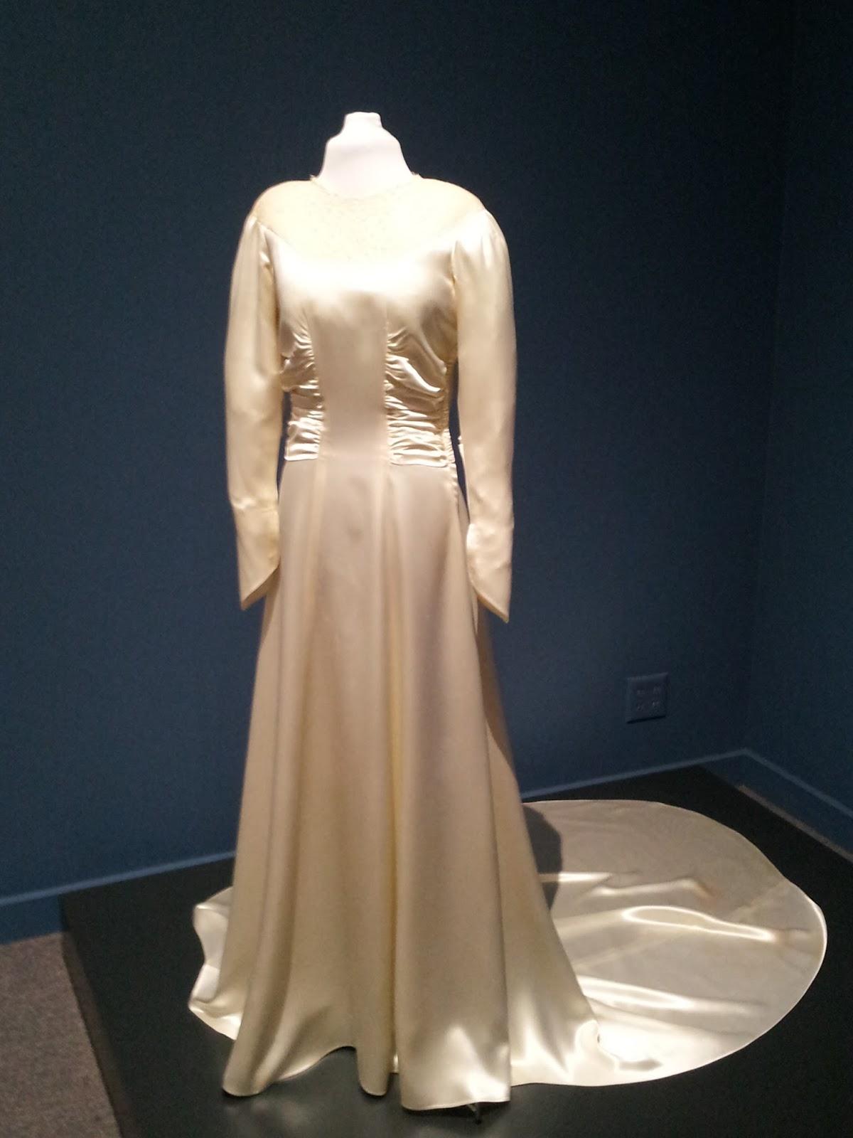 Pintucks: Vintage Bridal Gowns: on view at the Pasadena Historical ...