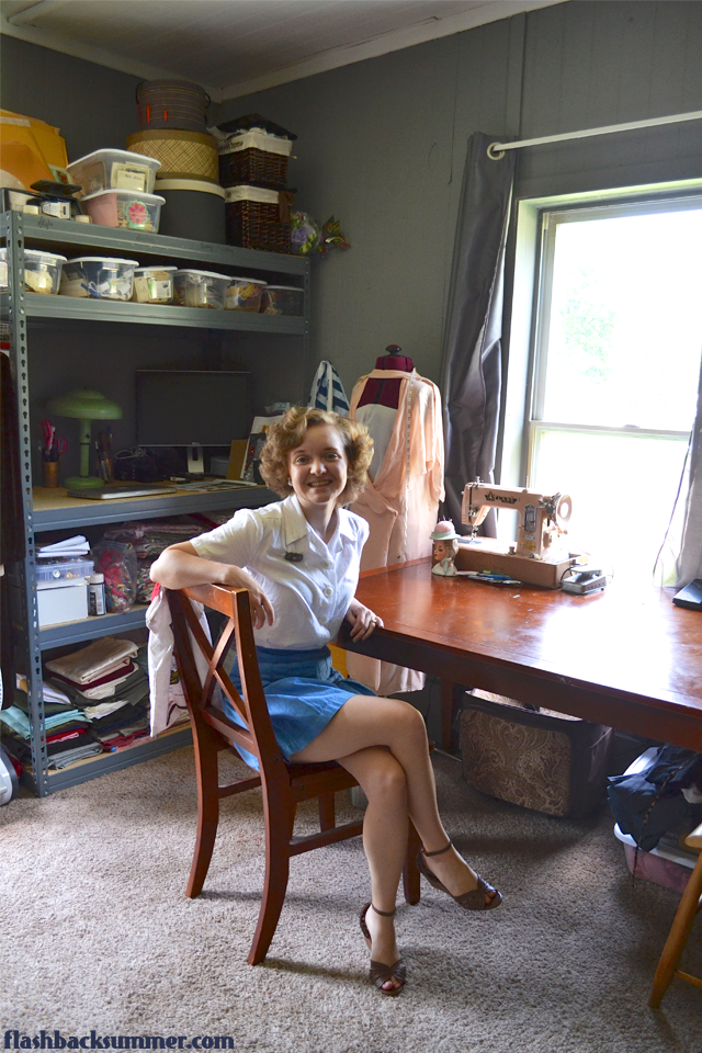 Flashback Summer: My Sewing Room