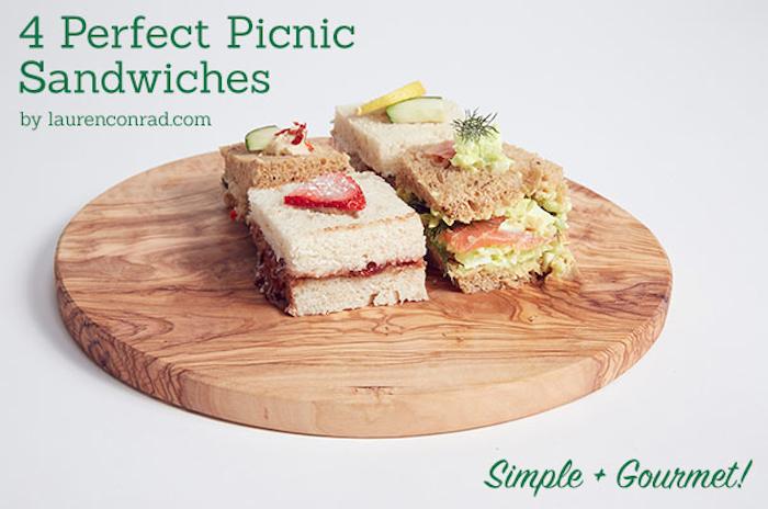 Lauren Conrad's 4 perfect Tea Sandwiches