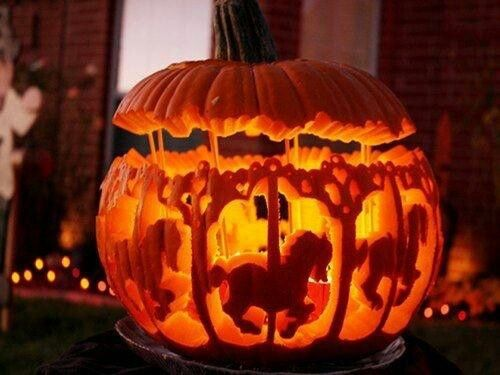 i can only imagine how long this would take to carve i know i wouldnt have the patience to do this pumpkin designs - Halloween Pumpkin Designs Without Carving