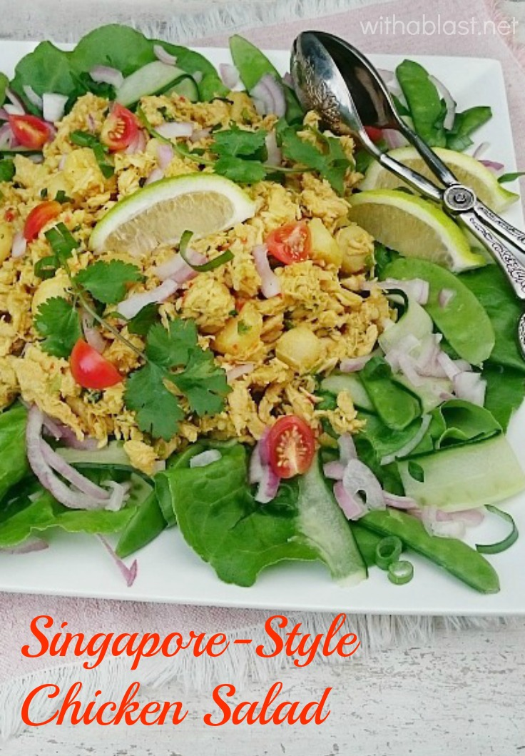 Singapore-Style Chicken Salad