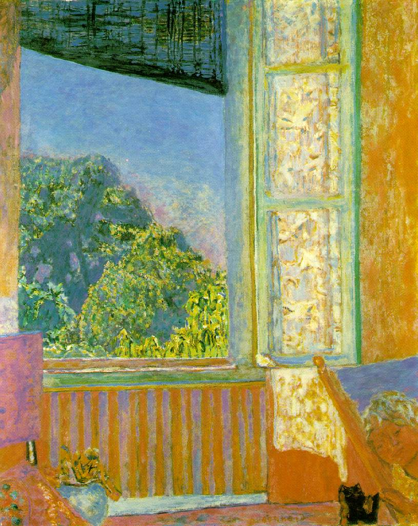 Feedbag blog pierre bonnard for Art et fenetre nice