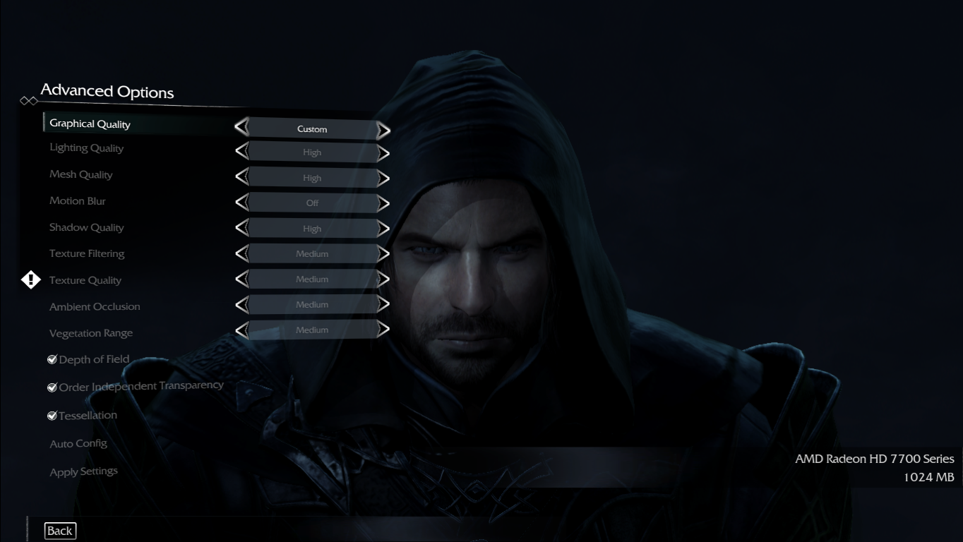 game middle earth shadow  mordor