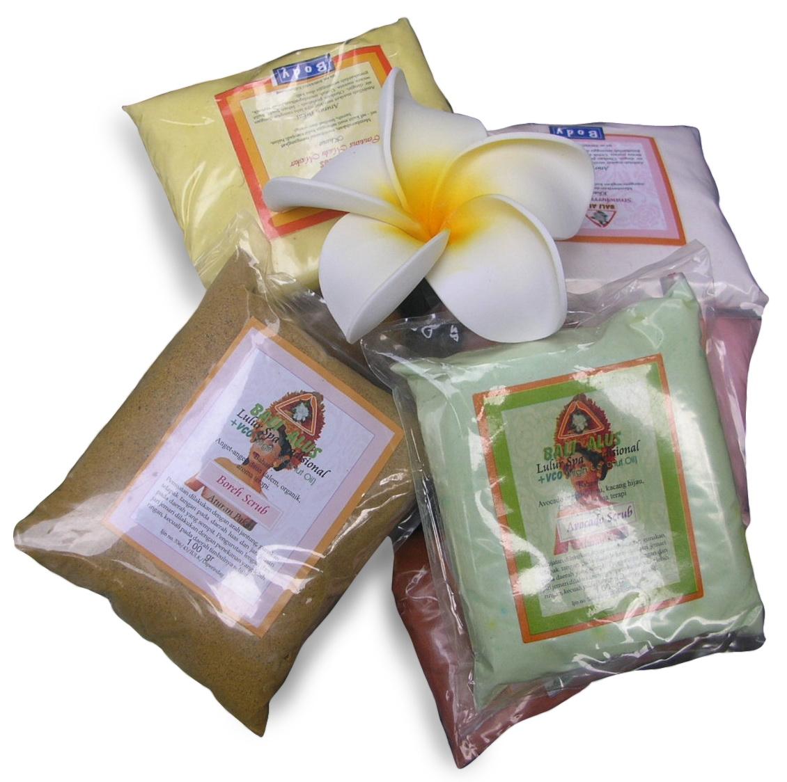 Bali Alus Beli Lulur Disini Aja Spa Cream 100gr Green Tea Bubuk Lbba Varian Avocado Bengkuang Boreh Cendana Madu Chocolate Coffee Jasmine Aloevera Milk Seaweed Strawberry