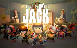 Screenshots of the Help me Jack: Atomic adventure for Android tablet, phone.