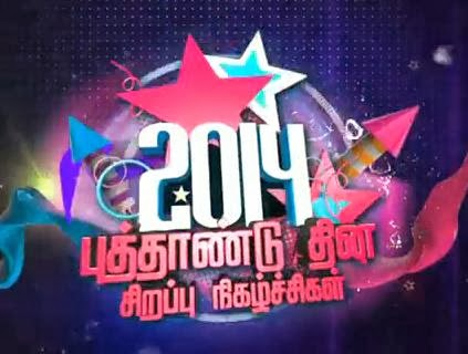 Vijay Tv New Year Special Programes,Movies Promo 01-01-2014