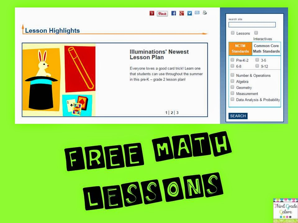 Third Grade Galore: FREE Reading and Math Resource Sites