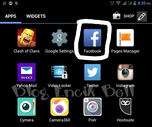 bagaimana nak buka dua akaun facebook pada telefon android