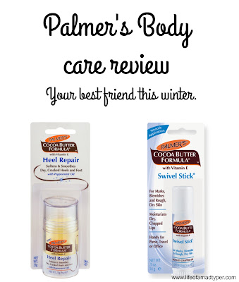 Palmer's Body care review