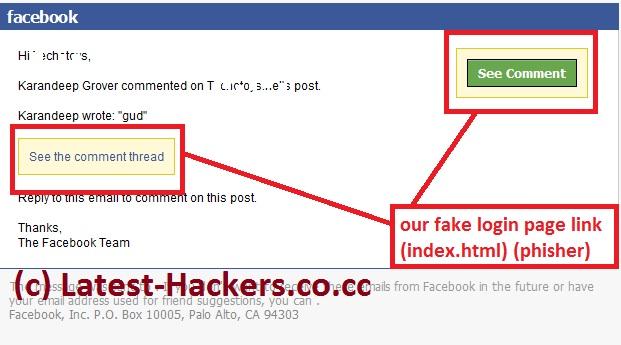 Phishing Facebook Accounts