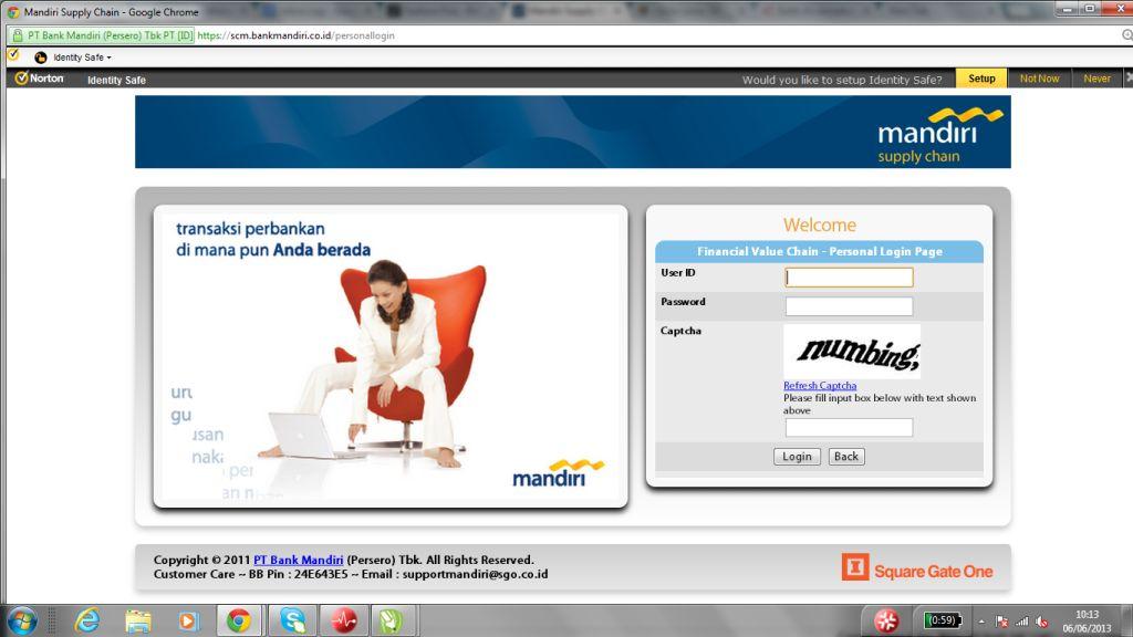 Pengisian Deposit Otomatis Chip Sakti Via Bank Mandiri SCM