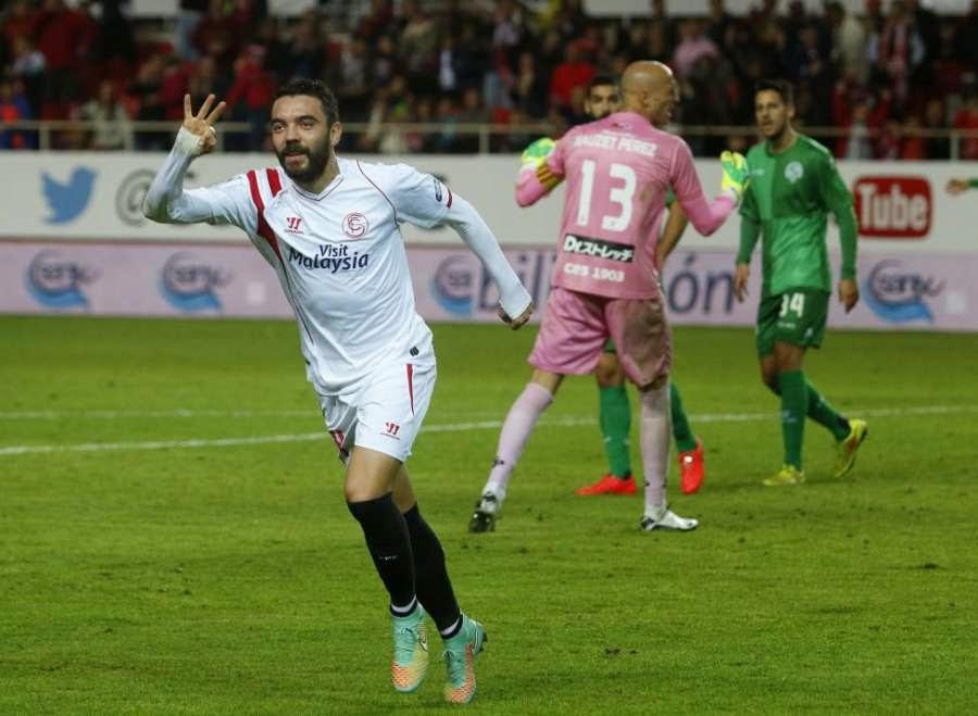 Crónica Sevilla FC 5 Vs Sabadell 1