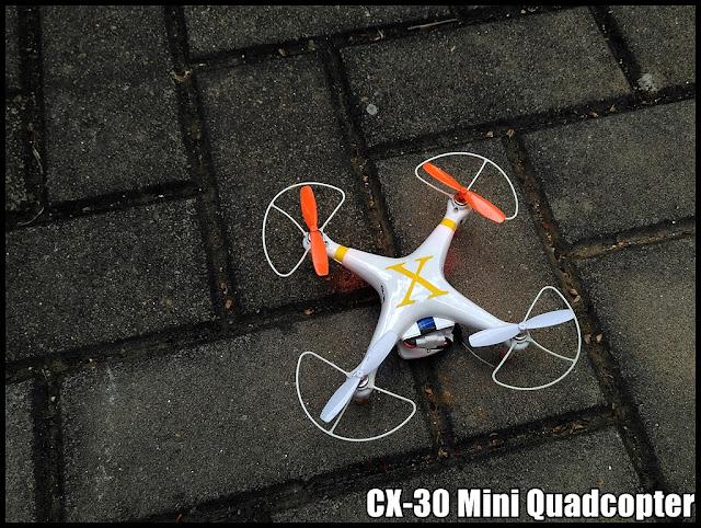Cx-30 Mini Quadcopter Alongside Fpv Cam