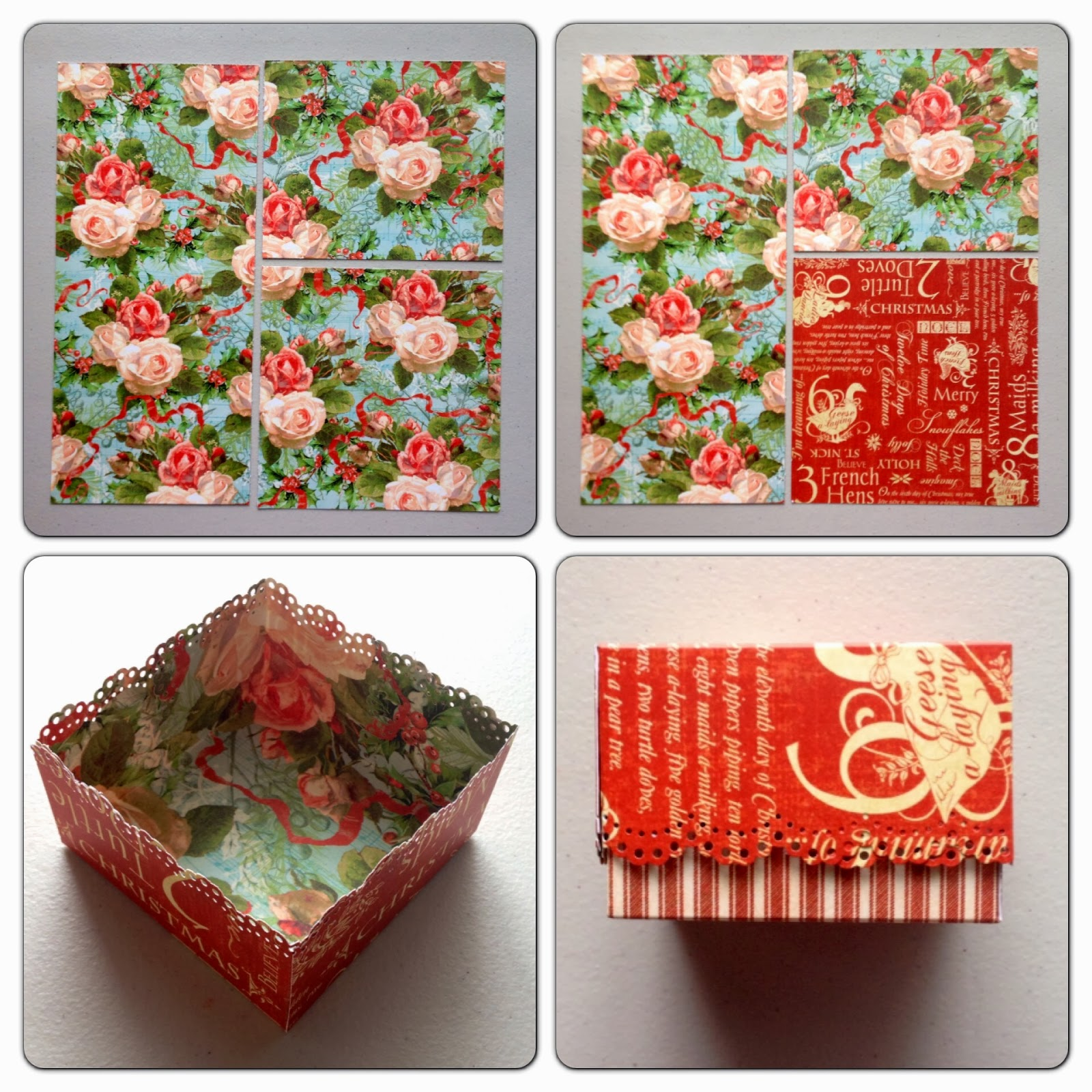 Paperiah days of christmas stacking boxes tutorial