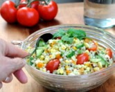 Garden Pasta Salad with Mint Vinaigrette