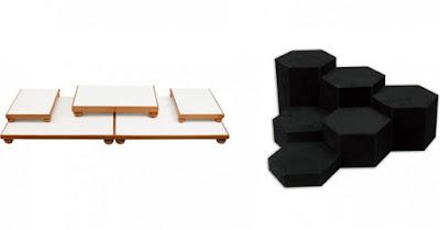 Platforms or Risers Jewelry Displays