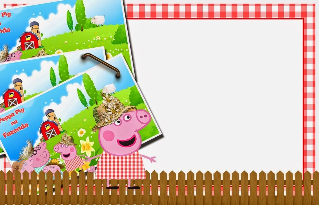 Peppa Pig Invitations Printable Free