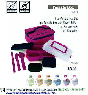 Info & Harga Twin Tulip Tulipware 2014 : Female Box