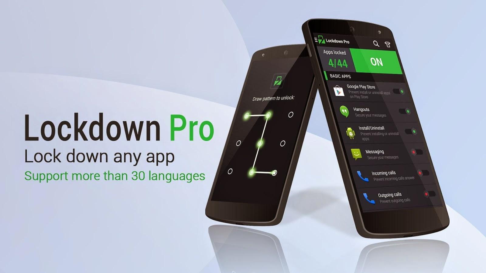 Kunci Aplikasi Penting Dengan Lockdown Pro - App Lock