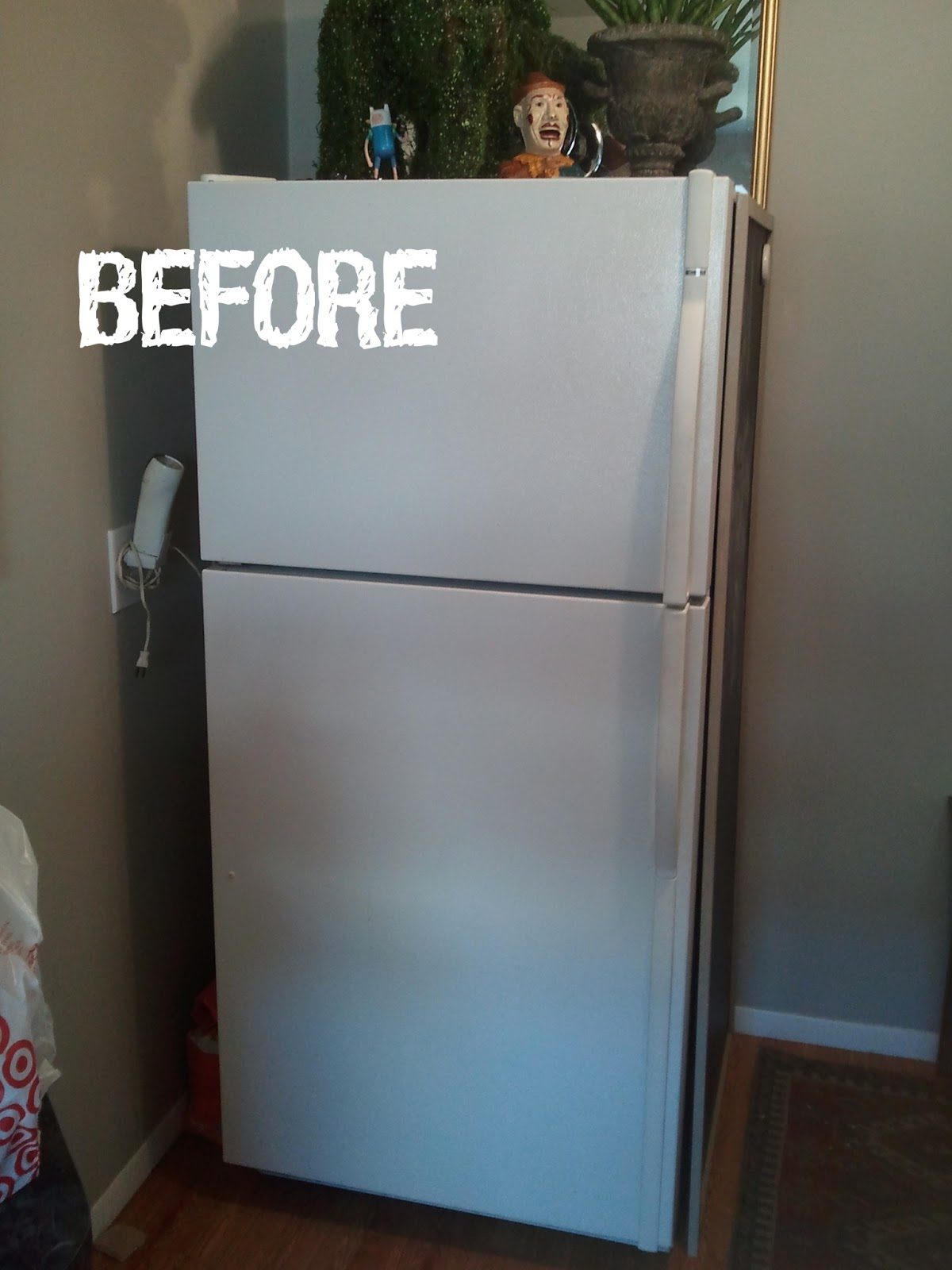 The Aedis  Diy Cover Up For An Ugly Fridge