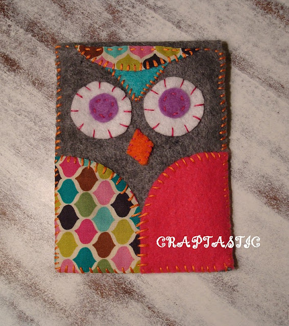 copycat felt owl iphone cover tutorial