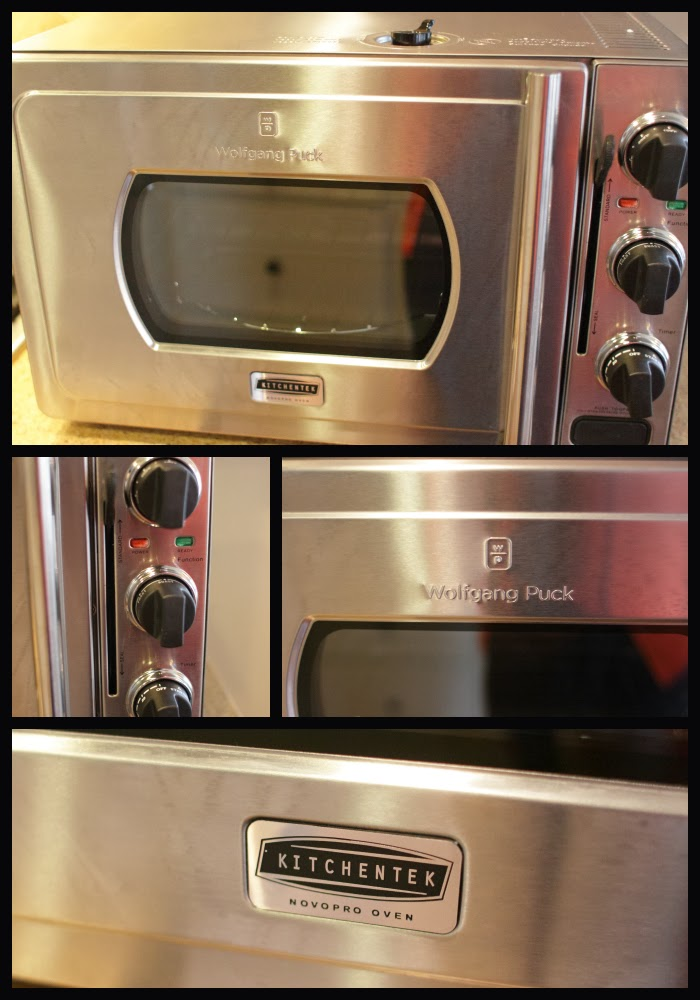 novopro oven by kitchentek i received a wolfgang puck novopro oven ...
