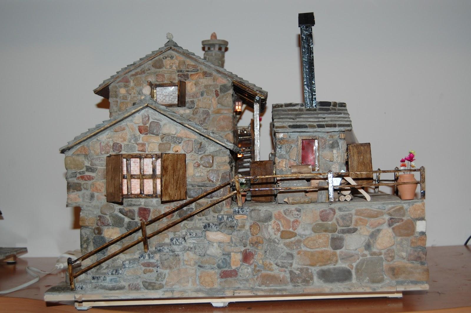 Casas de piedra en miniatura marzo 2012 - Como hacer casas en miniatura ...
