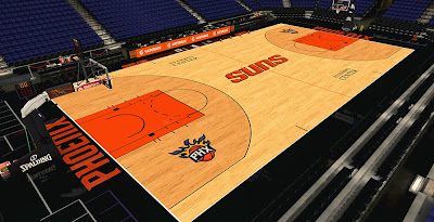 NBA 2K14 Suns HD Court Mod