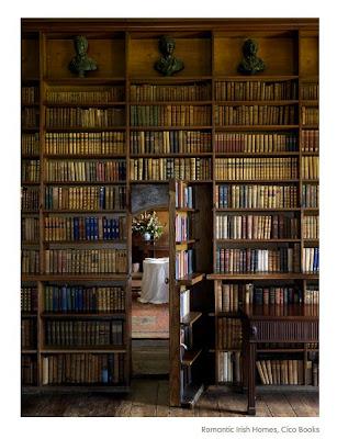 book room with hidden door