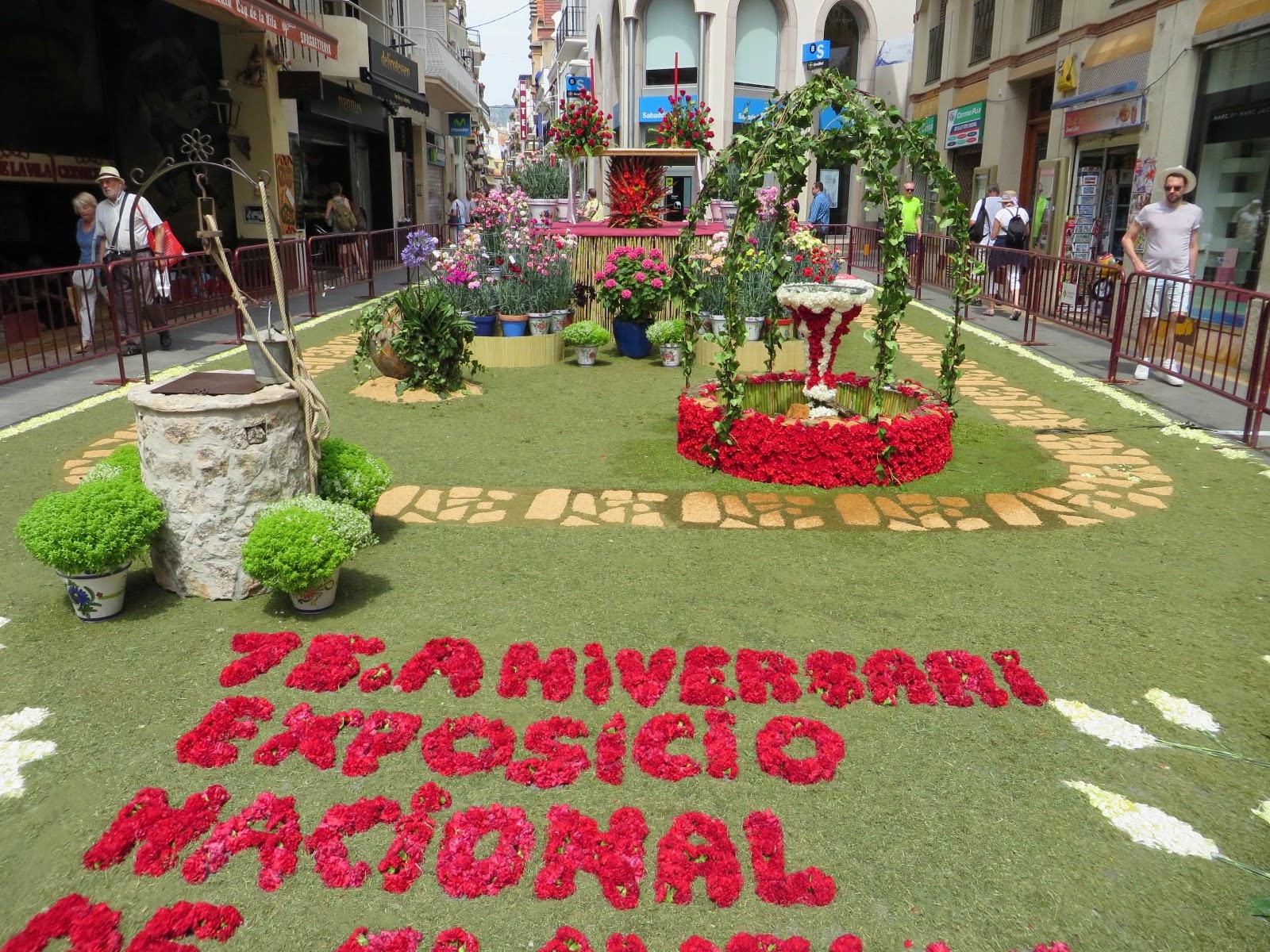 Urbina vinos blog alfombras de flores sitges celebraci n del corpus christi en barcelona 2014 - Alfombras en barcelona ...
