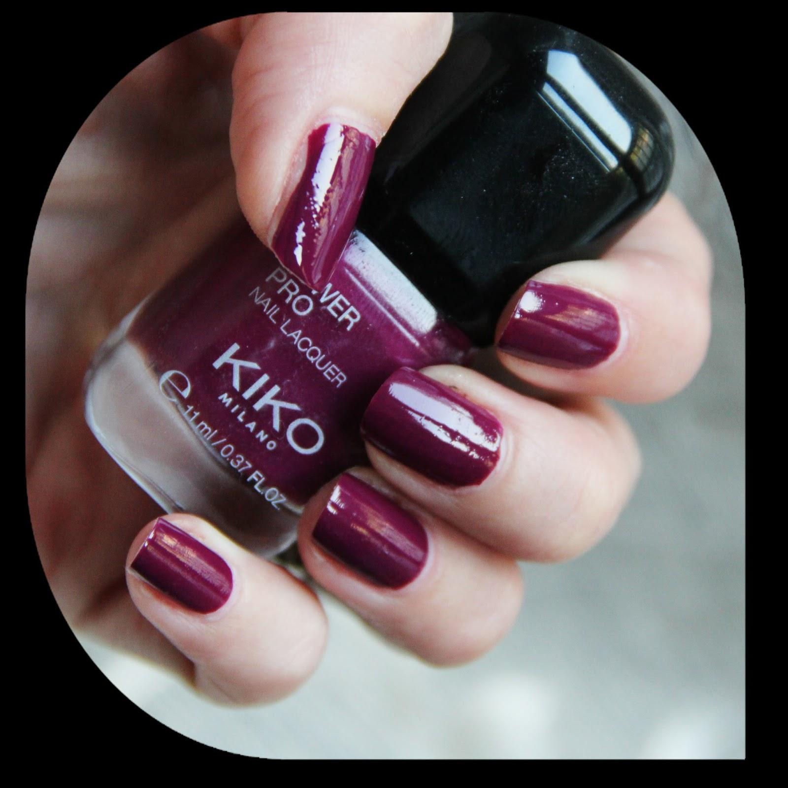 Notd Kiko Pro Nail Lacquer 20 Ciclamino