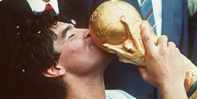 Maradona Campeon Mexico 86