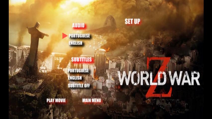 Capa do Dvd Guerra Mundial z Baixe o Dvd Guerra Mundial z