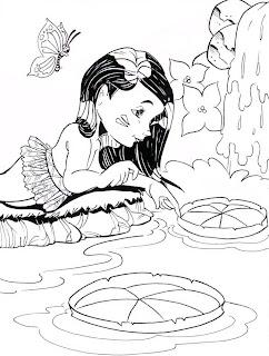Riscos para pintura - Folclore