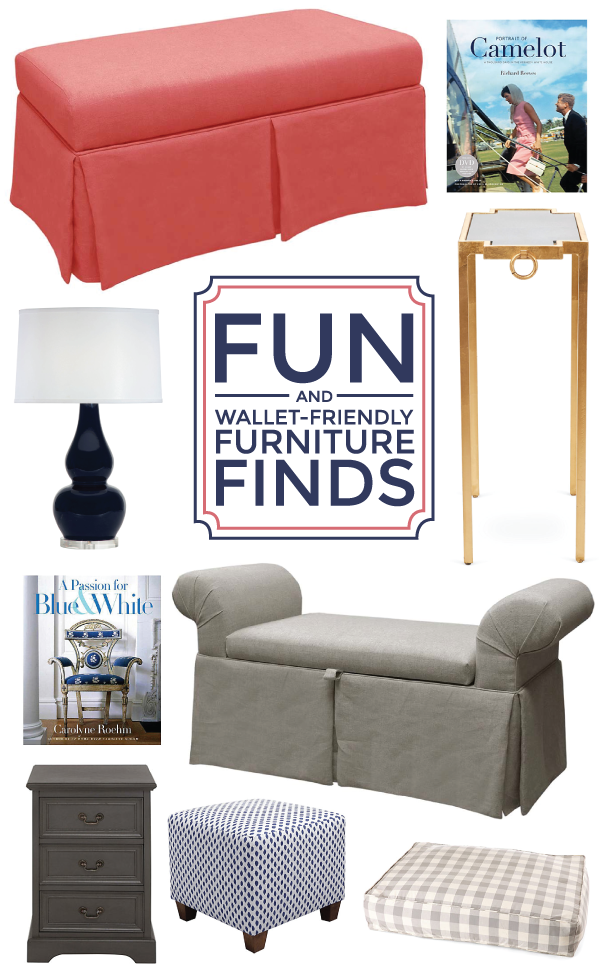 fun + wallet-friendly furniture finds via one kings lane!