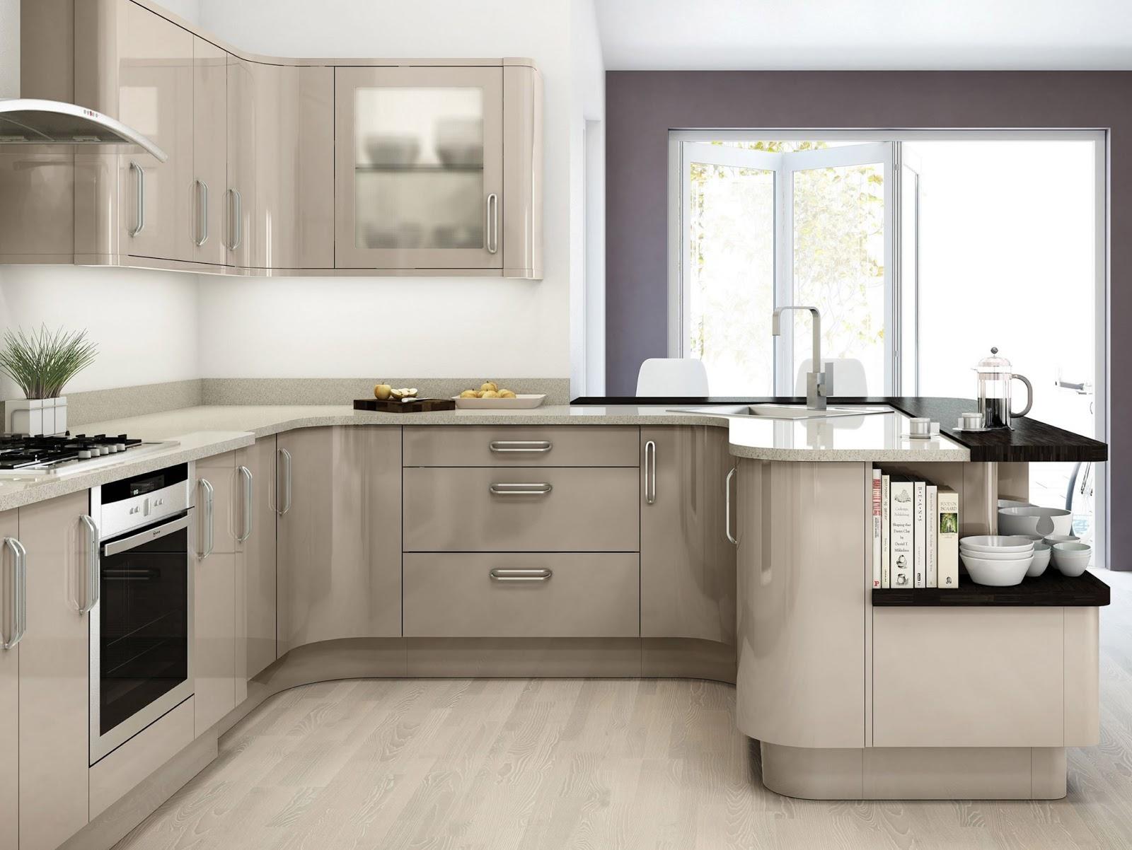 modele cuisine moderne : idees meuble cuisine, plan de travail