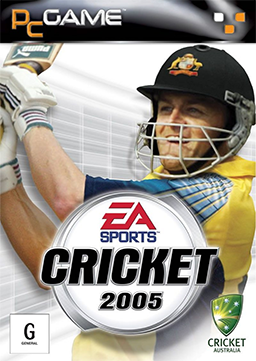 EA CRICKET 2005 COVER