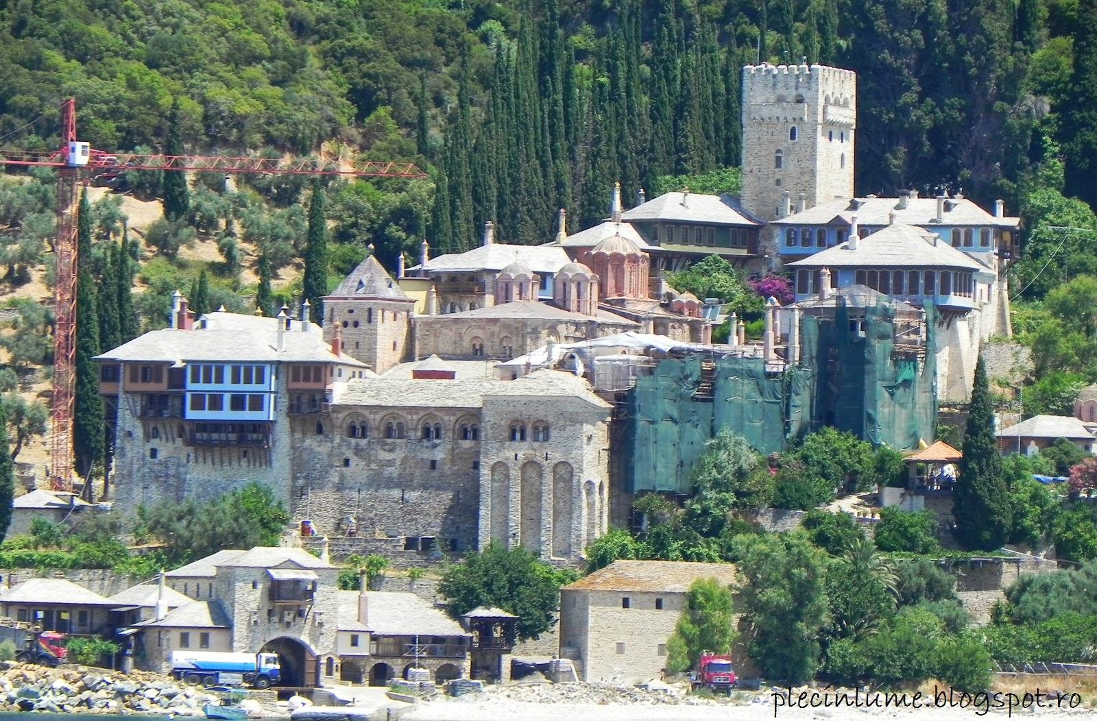 Manastirea Dochiario din Athos