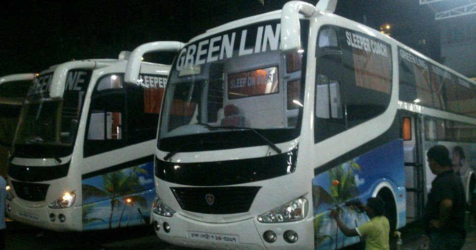 BUSLOVER    Bangladesh Bus Lovers' Image & Video Portal: [Images] Green Line Sleeper Bus - First ...