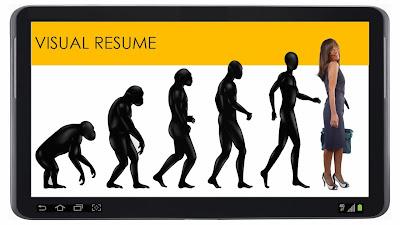 CV creativi ipad tablet