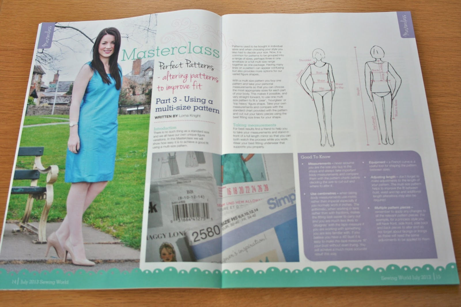 Evajeanie and the sewing machiney review sewing world magazine this not tricky or in the least bit scarey section is exactly what the tags on the top of the page claim it to be a masterclass jeuxipadfo Choice Image