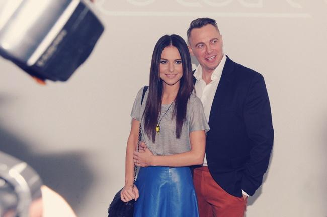 Paulina Sykut z Mężem